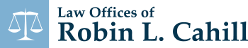 Law Offices of Robin L. Cahill Header Logo